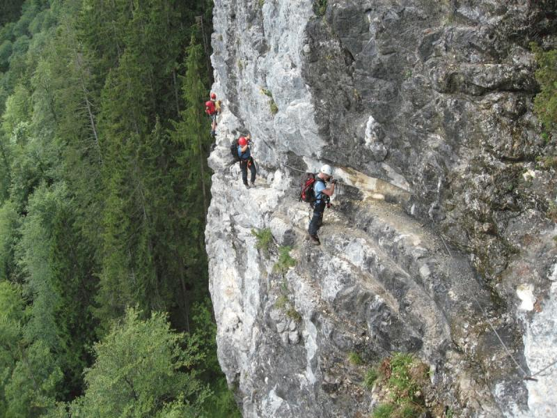 Klettersteig Postalm : Postalm klettersteig alpenverein