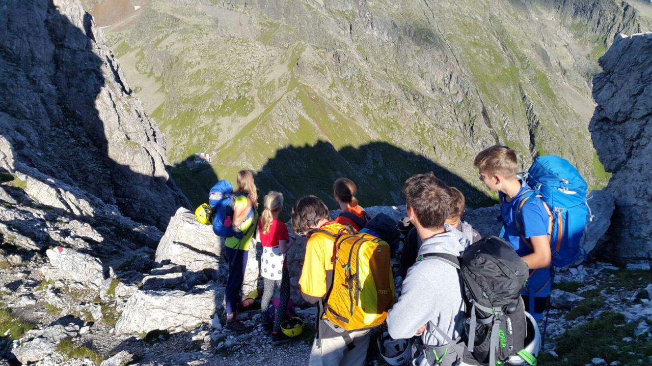 Klettersteig Ilmspitze : Klettersteig ilmspitze vom  alpenverein