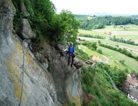 Klettersteig Riegersburg : Klettersteig in riegersburg alpenverein