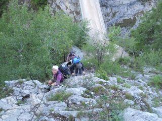 Klettersteig Traunstein : Traunstein klettersteig 19.05.2012 alpenverein