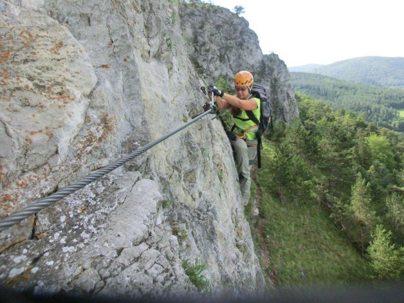 Klettersteig Türkensturz : Türkensturz hermannshöhle wanderung alpenverein
