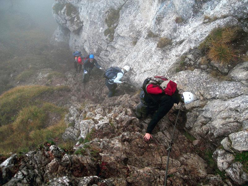 Klettersteig Hochlantsch : Hochlantsch franz scheikl klettersteig  alpenverein