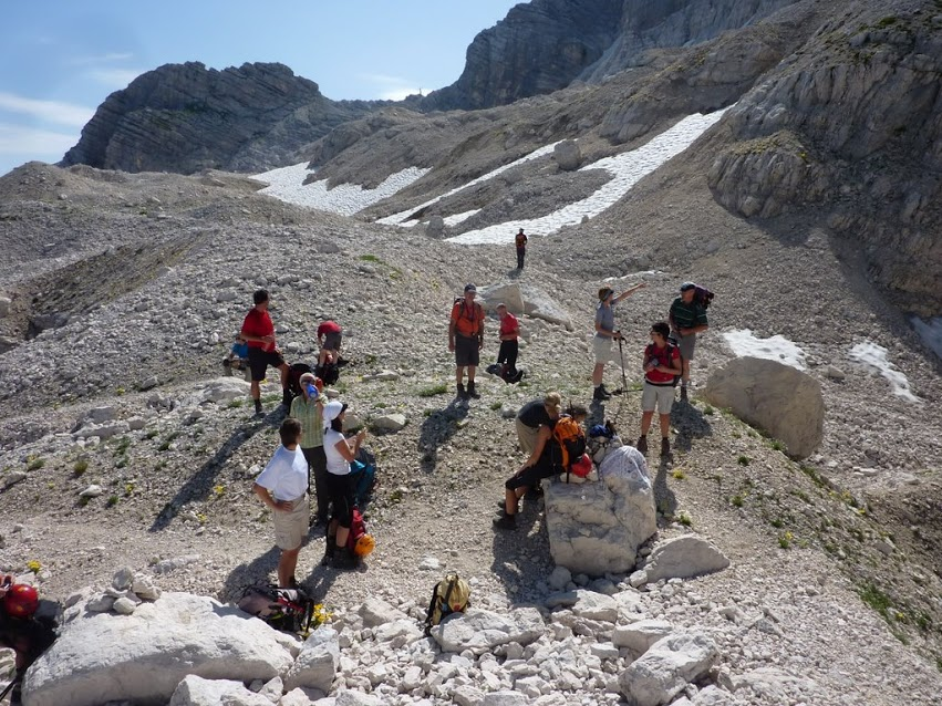Klettersteig Julische Alpen : Klettersteige in den julischen alpen mit triglav slowenien