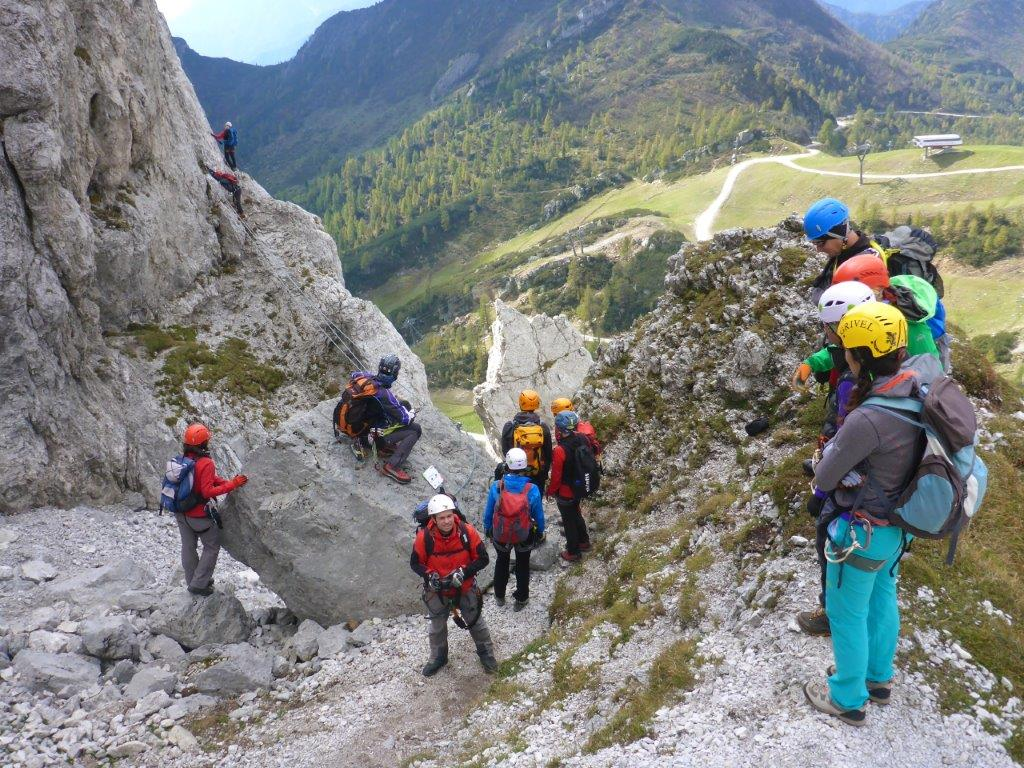 Klettersteig Däumling : Däumling klettersteig bergsteigen