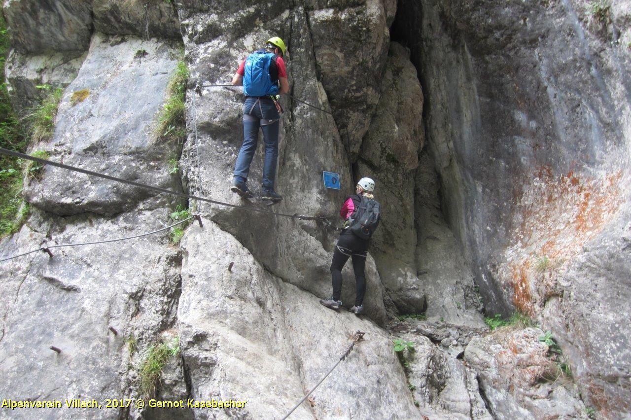 Klettersteig Villach : Klettersteig pirkachklamm alpenverein