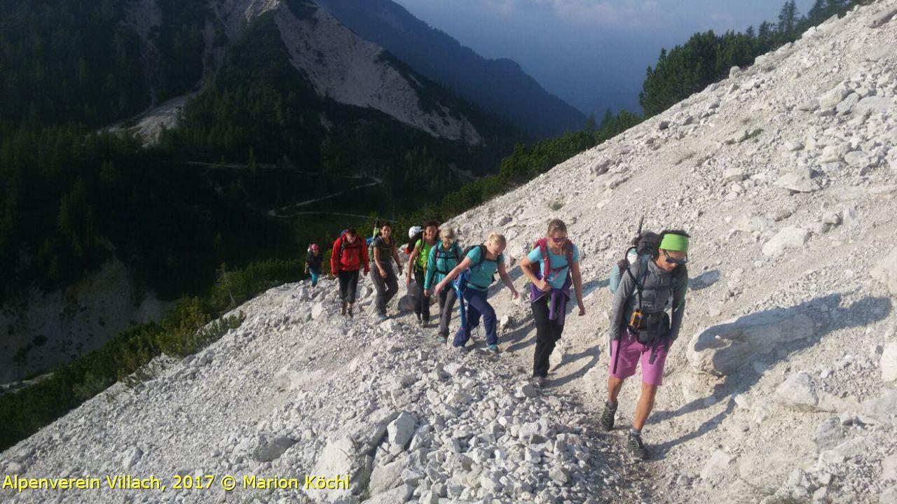 Klettersteig Villach : Klettersteig mojstrovka alpenverein