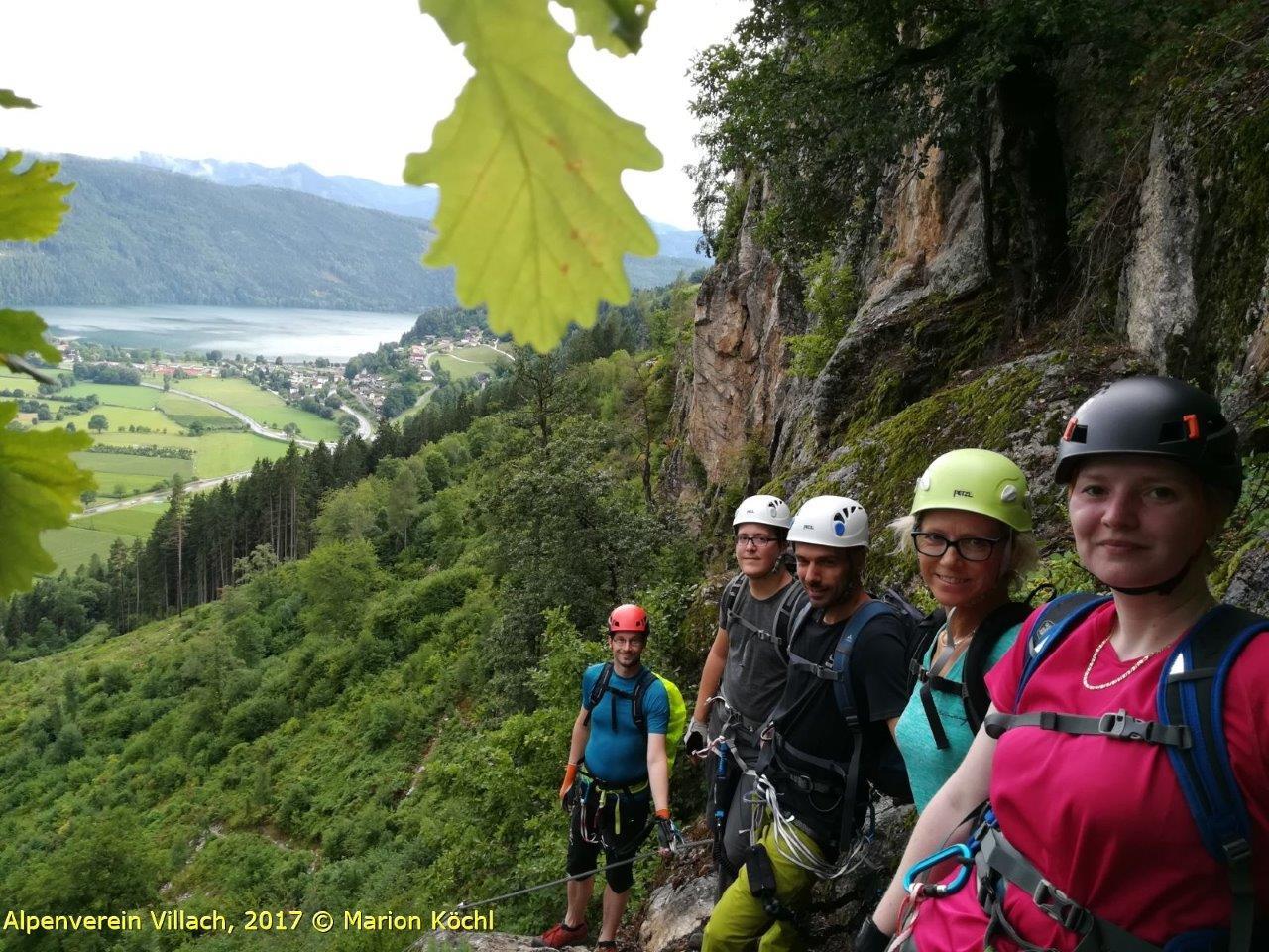 Klettersteig Villach : Bergfex klettersteig däumling tour kärnten