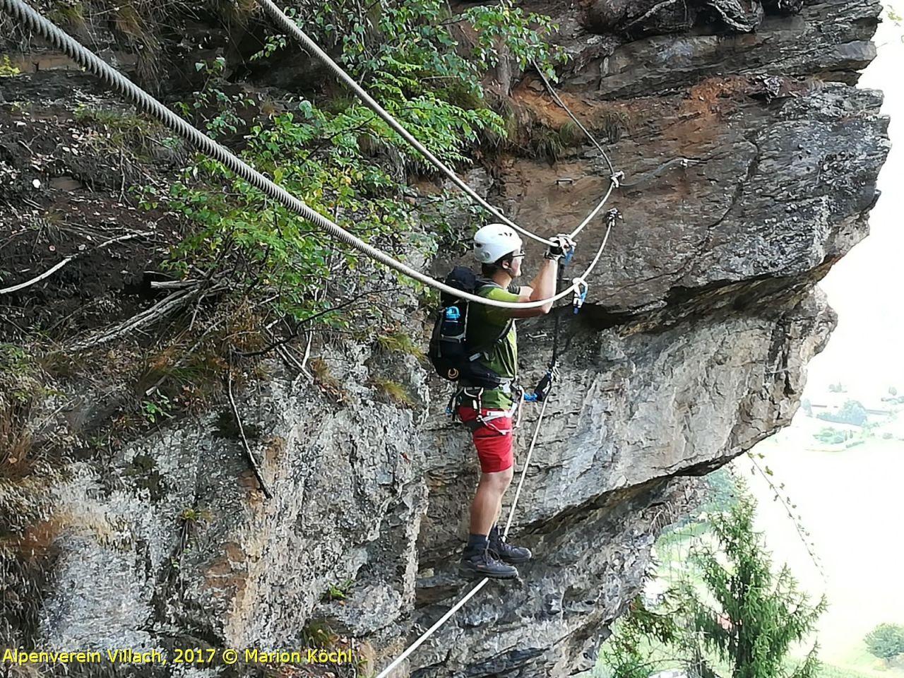 Klettersteig Villach : Rotschitza klettersteig alpenverein