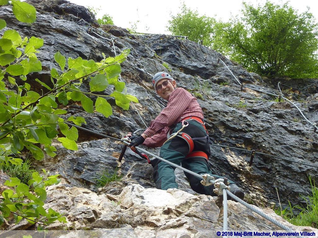 Klettersteig Villach : Klettersteig abend vaa alpenverein