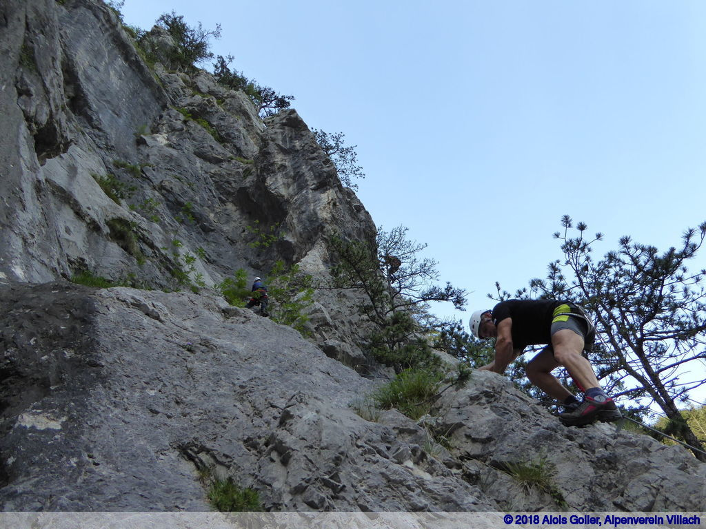 Klettersteig Villach : Klettersteig qualifikation alpenverein