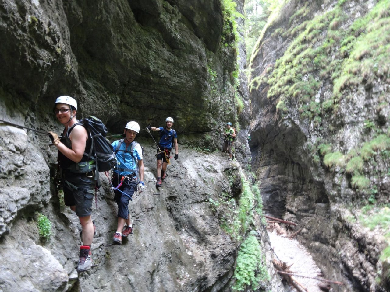 Klettersteig Postalm : Klettersteige im salzburgerland magazin