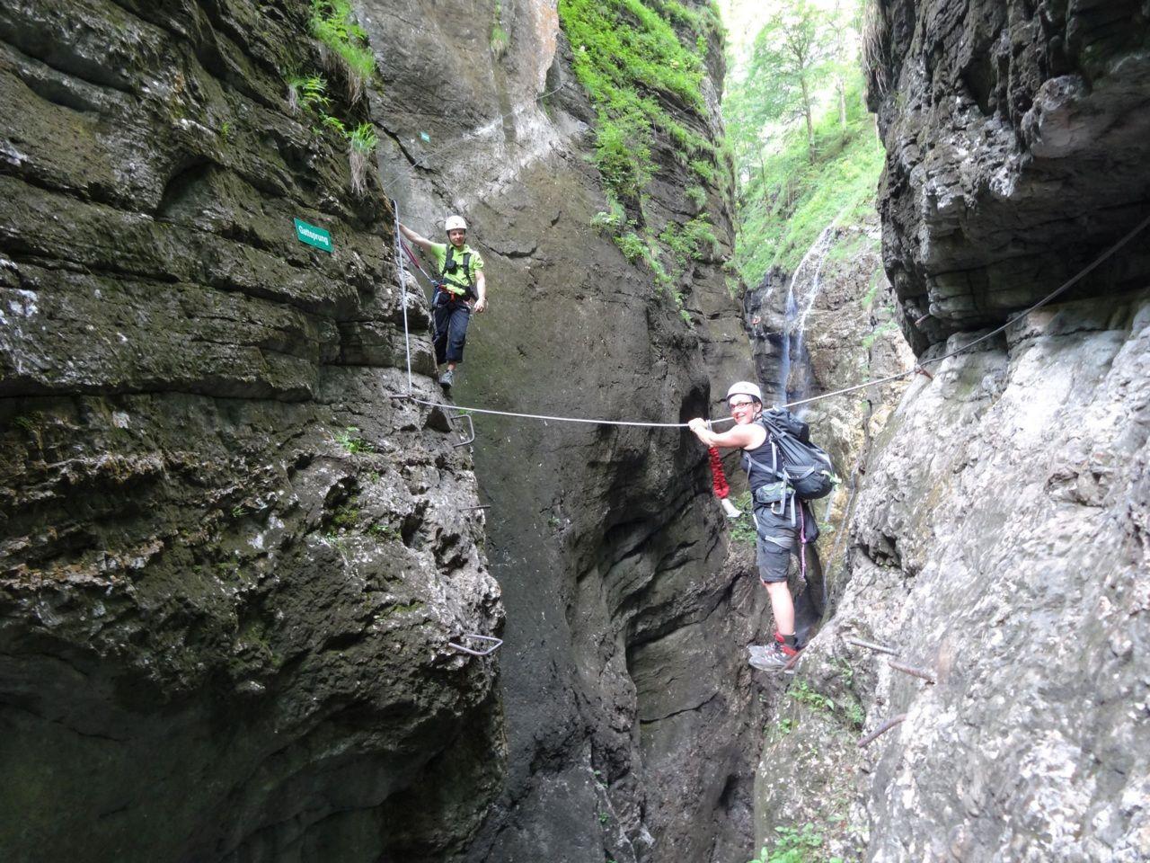Klettersteig Postalm : Klettersteig postalm u c d vari f sport sattlecker