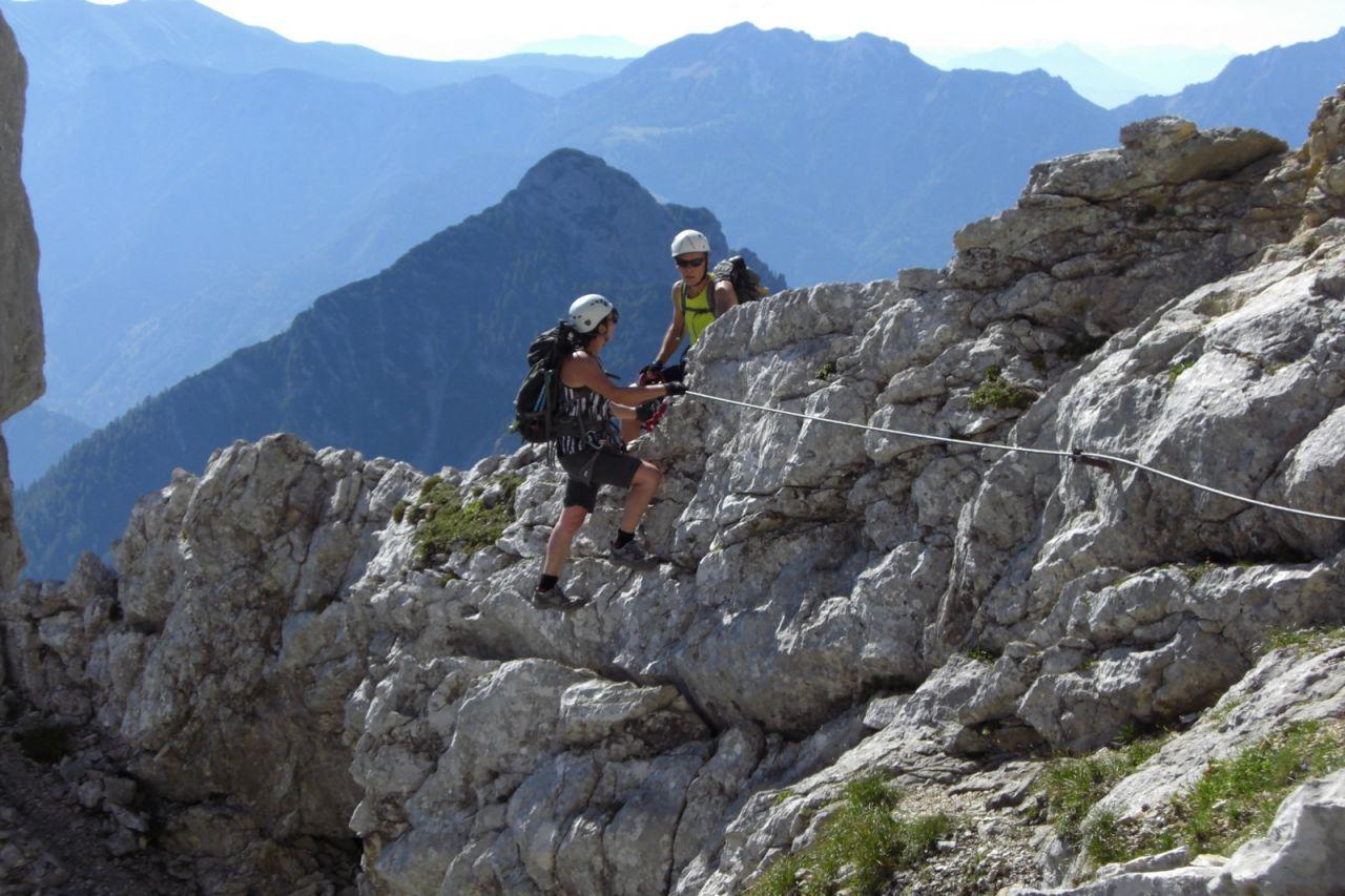 Klettersteig Priel : Bert rinesch klettersteig auf den großen priel 2.515 m alpenverein