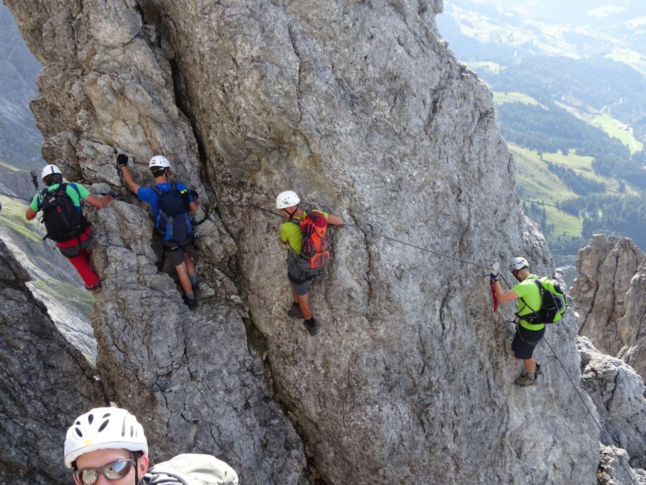 Klettersteig Königsjodler : Touren auf klettersteige in der region zell am see kaprun