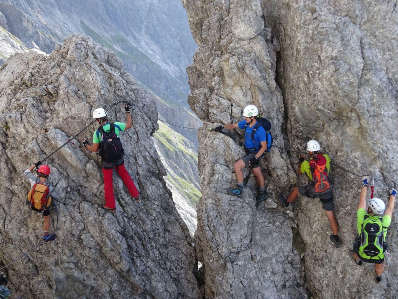 Klettersteig Hochkönig : Bergtour auf den hochkönig touren in berg fels schnee und eis
