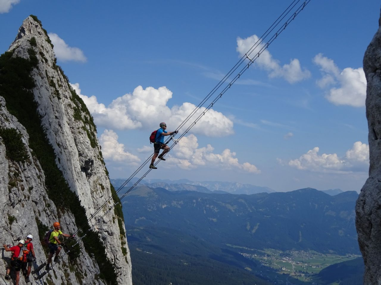 Klettersteig Intersport : Intersport klettersteig auf den großen donnerkogel 2.054 m alpenverein