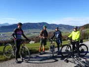 Mountainbiketour am Mondseeberg via Lichtenberg (885 m)