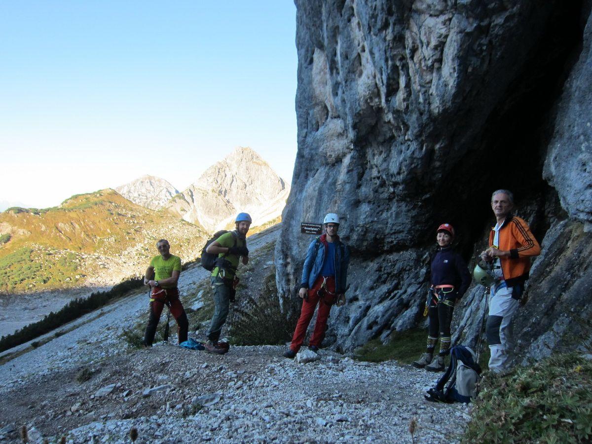 Dachstein Klettersteig Johann : Hoher dachstein südwand klettersteig johann tourentipp