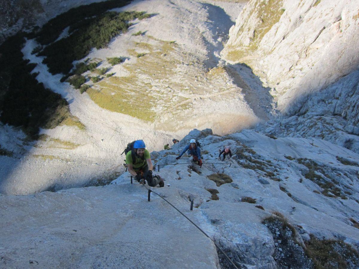 Dachstein Klettersteig Johann : Neuer klettersteig auf dem sinabell angst vor schluss