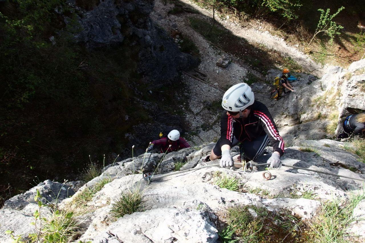 Klettersteig Für Anfänger : Klettersteige im allgäu die schönsten