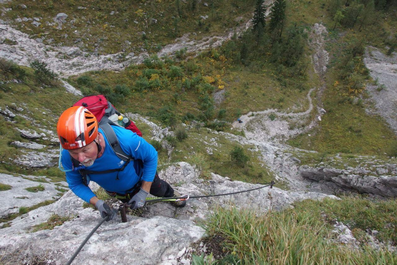 Klettersteig Hallstatt : Genuss r seewand klettersteig alpenverein