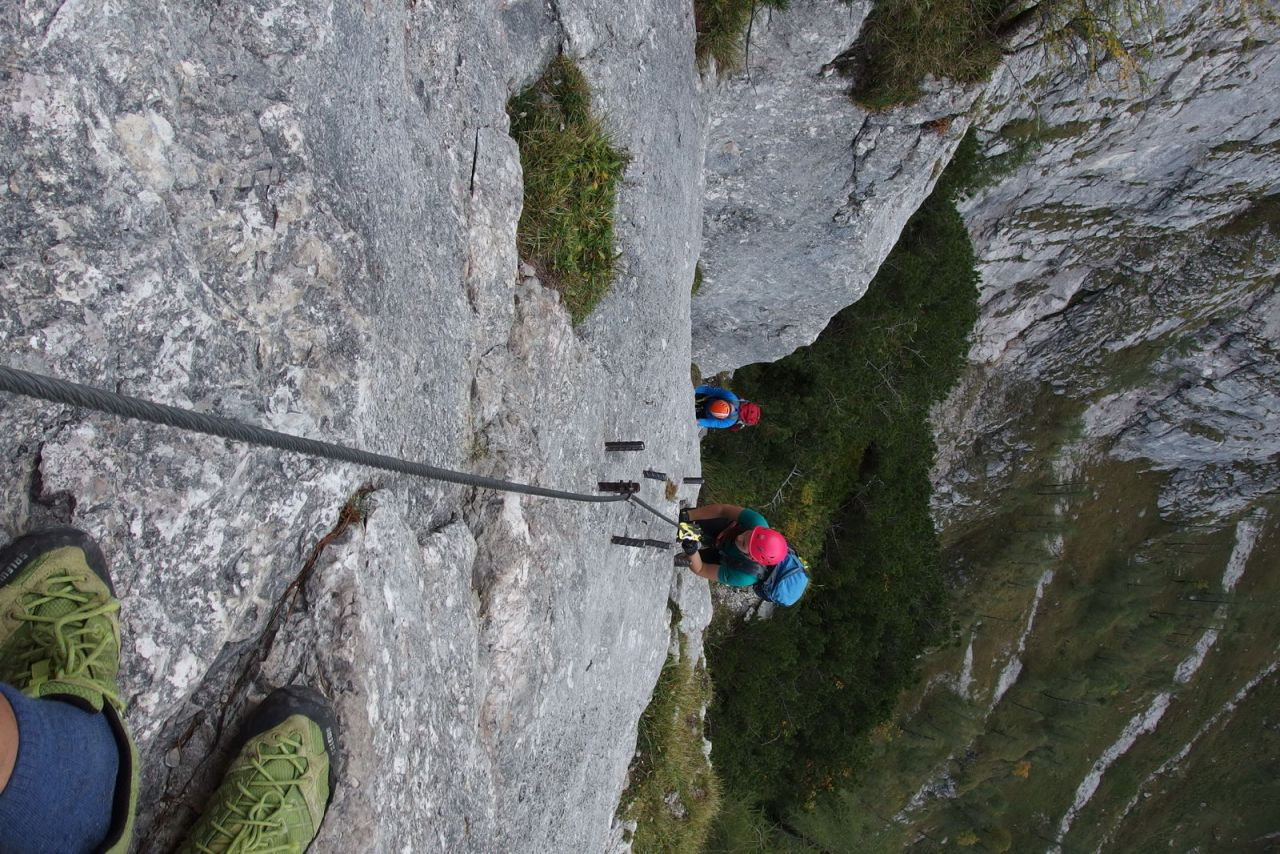 Klettersteig Zauchensee : Klettersteig seewand zauchensee alpintouren wander tour fünf