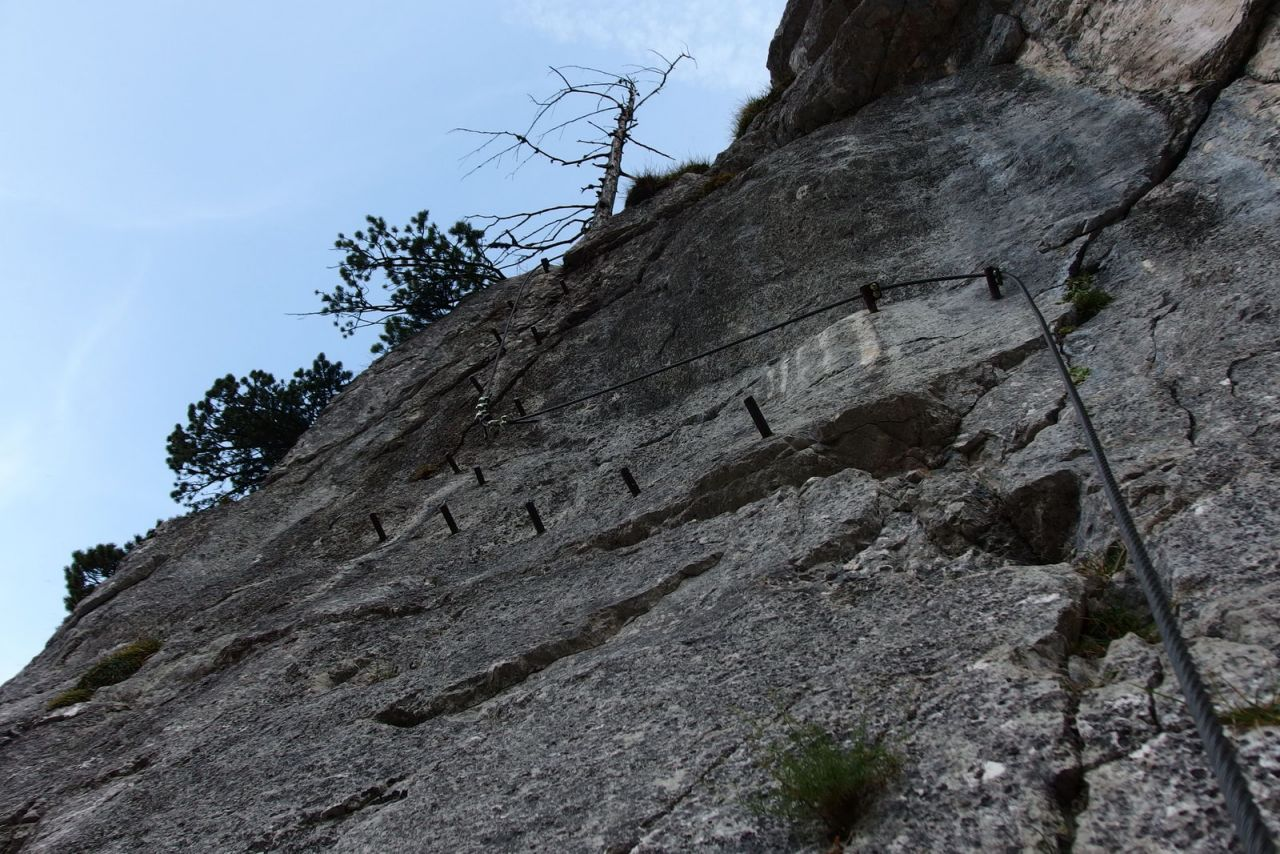 Klettersteig Seewand : Genuss r seewand klettersteig alpenverein