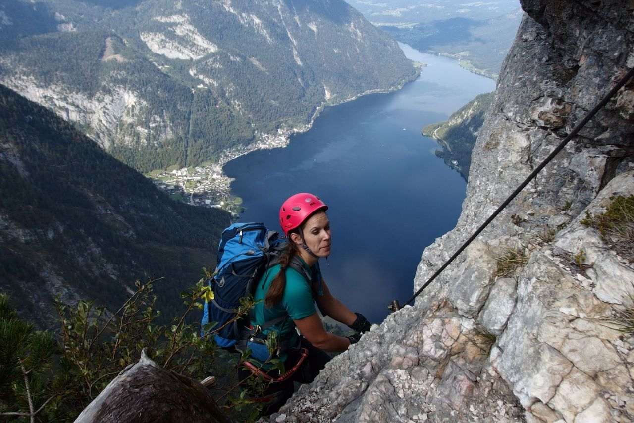 Klettersteig Seewand : Genuss .der seewand klettersteig alpenverein
