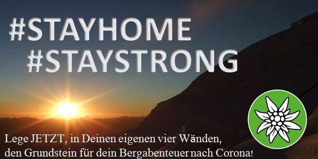 #STAYHOME #STAYSTRONG