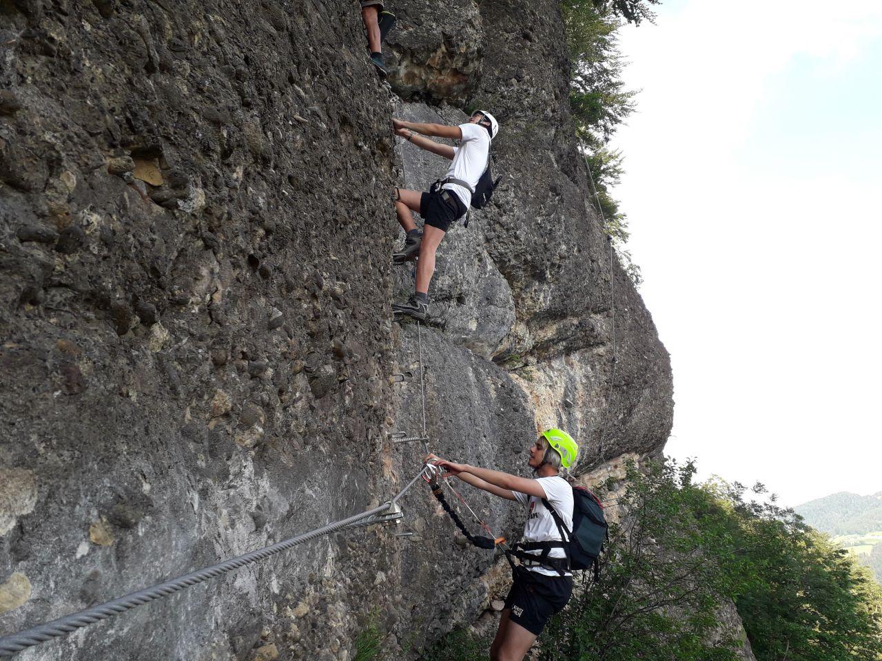 Klettersteig Vorarlberg : Klettersteig hochjoch silvretta montafon