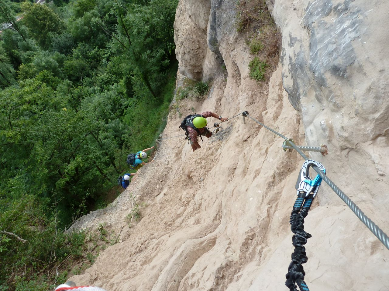 Klettersteig Bregenz : Klettersteig känzele alpenverein