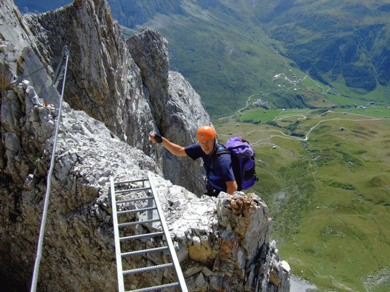 Klettersteig Sulzfluh : Klettersteig sulzfluh süd alpenverein