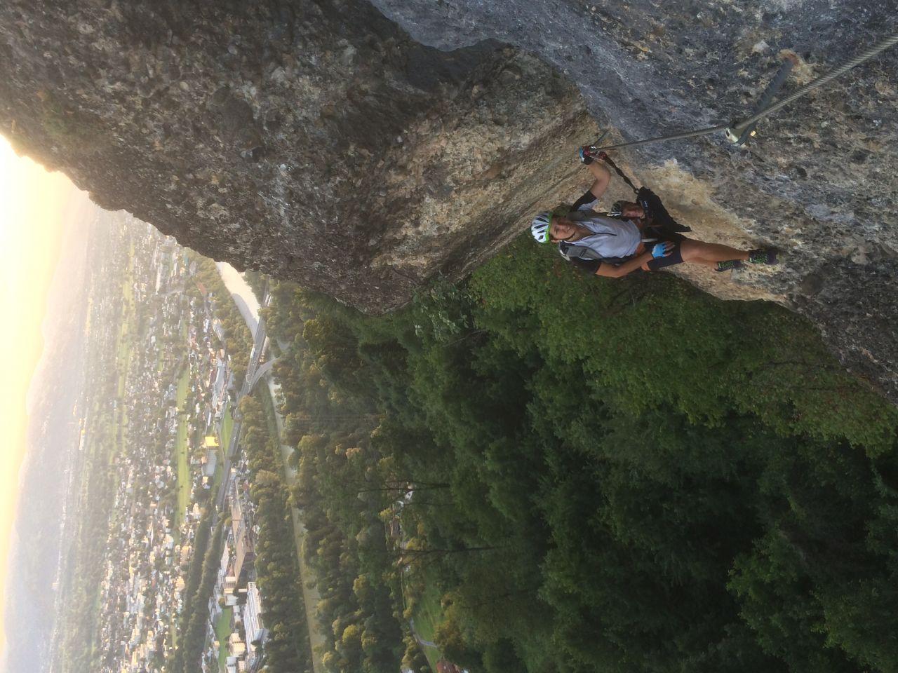 Klettersteig Bregenz : Känzele klettersteig alpenverein