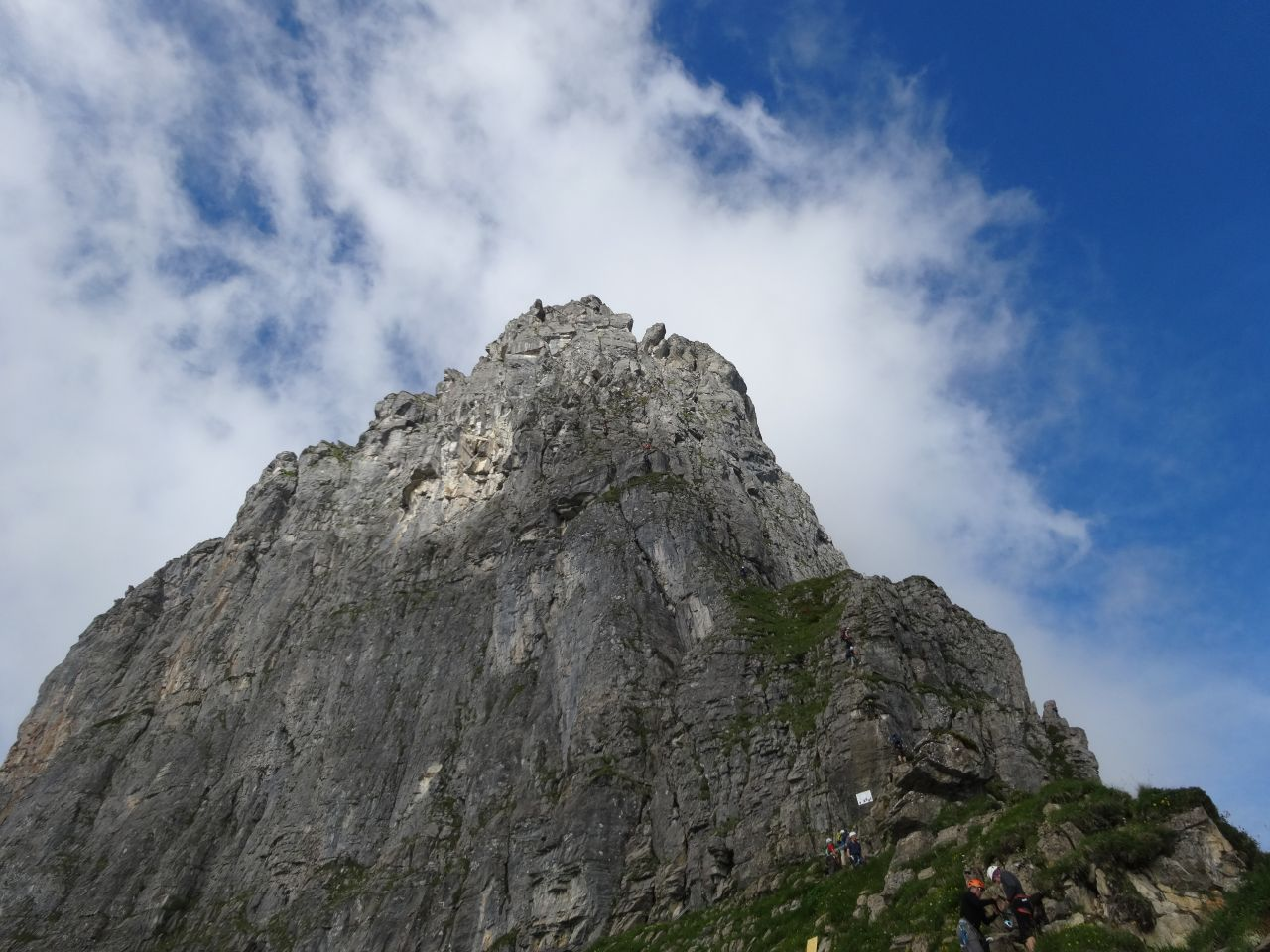 Klettersteig Braunwald : Braunwald klettersteig alpenverein