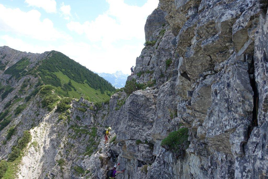 Klettersteig Oberjoch : Heiliges u ekanonenrohru c salewa klettersteig fasziniert bergfexe