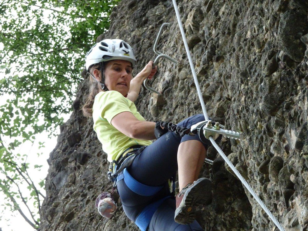Klettersteig Känzele : Klettersteig känzele am abend mit katja mai alpenverein