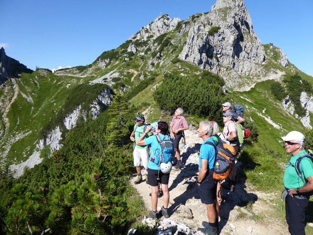 Klettersteig Tannheimer Tal : Friedberger klettersteig tannheimertal am  mit helmut