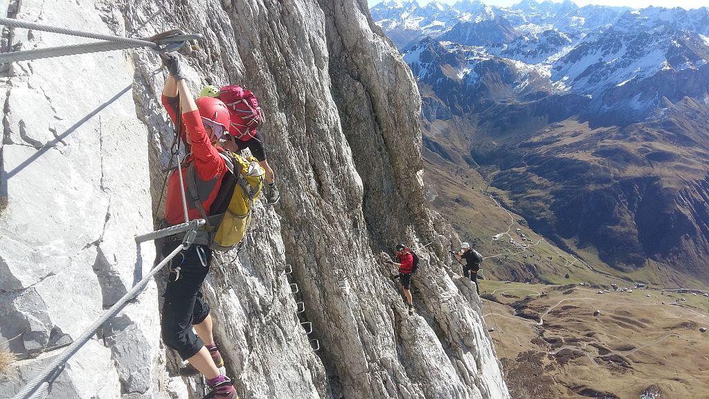 Klettersteig Sulzfluh : Sulzfluh klettersteig alpenverein