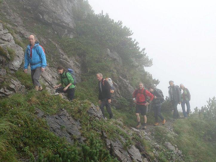 Klettersteig Saulakopf : Saulakopf klettersteig alpenverein