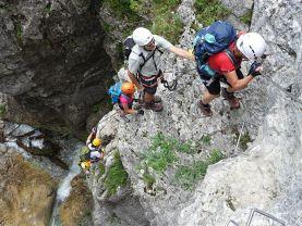 Vaude Klettersteig : Am klettersteig mit kindern drei antworten