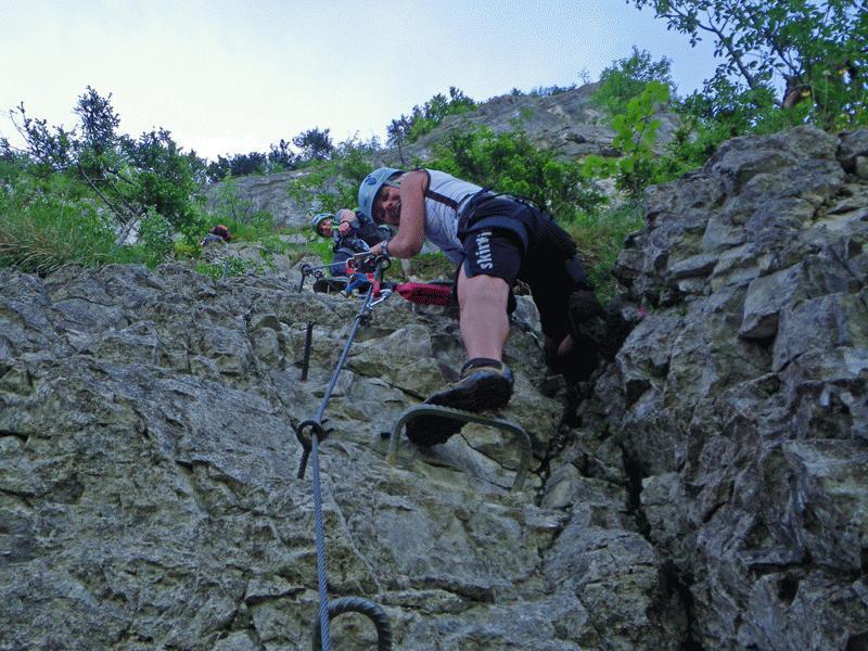Via Kapf Klettersteig : Auf guten wegen andreas outdoor klettersteige meschach