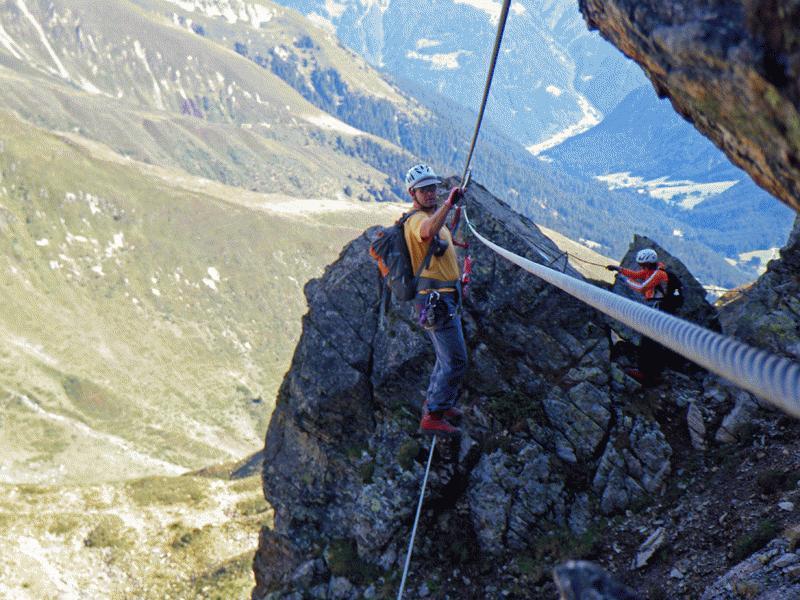 Klettersteig Vorarlberg : Klettersteige gargellen alpenverein