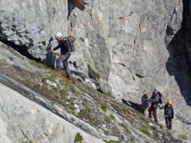 Klettersteig Saulakopf : Klettersteig saulakopf alpenverein