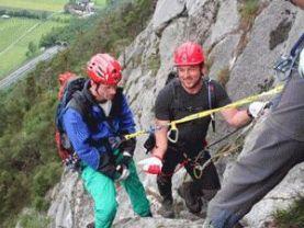 Klettersteigset Anlegen Bremsseil : Anreissertext beschreibung alpenverein