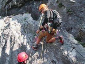 Klettersteig Bandschlinge : Via ferrata klettersteige führen alpenverein