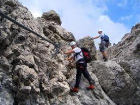 Klettersteig Fall : Klettersteig kurs in der rhön für anfänger guiders