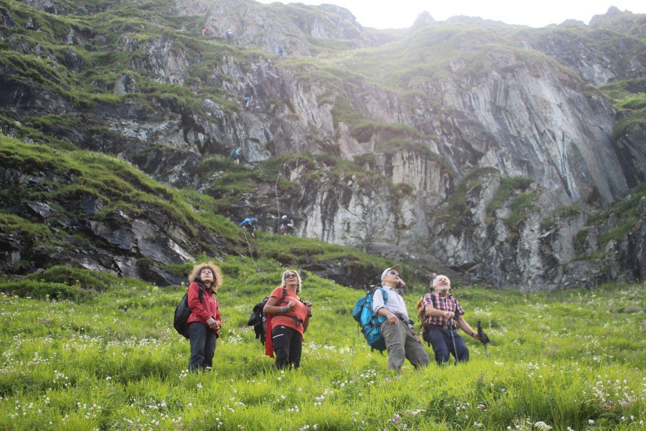 Klettersteig Hochjoch : Alpintouren klettersteig tour hochjoch m