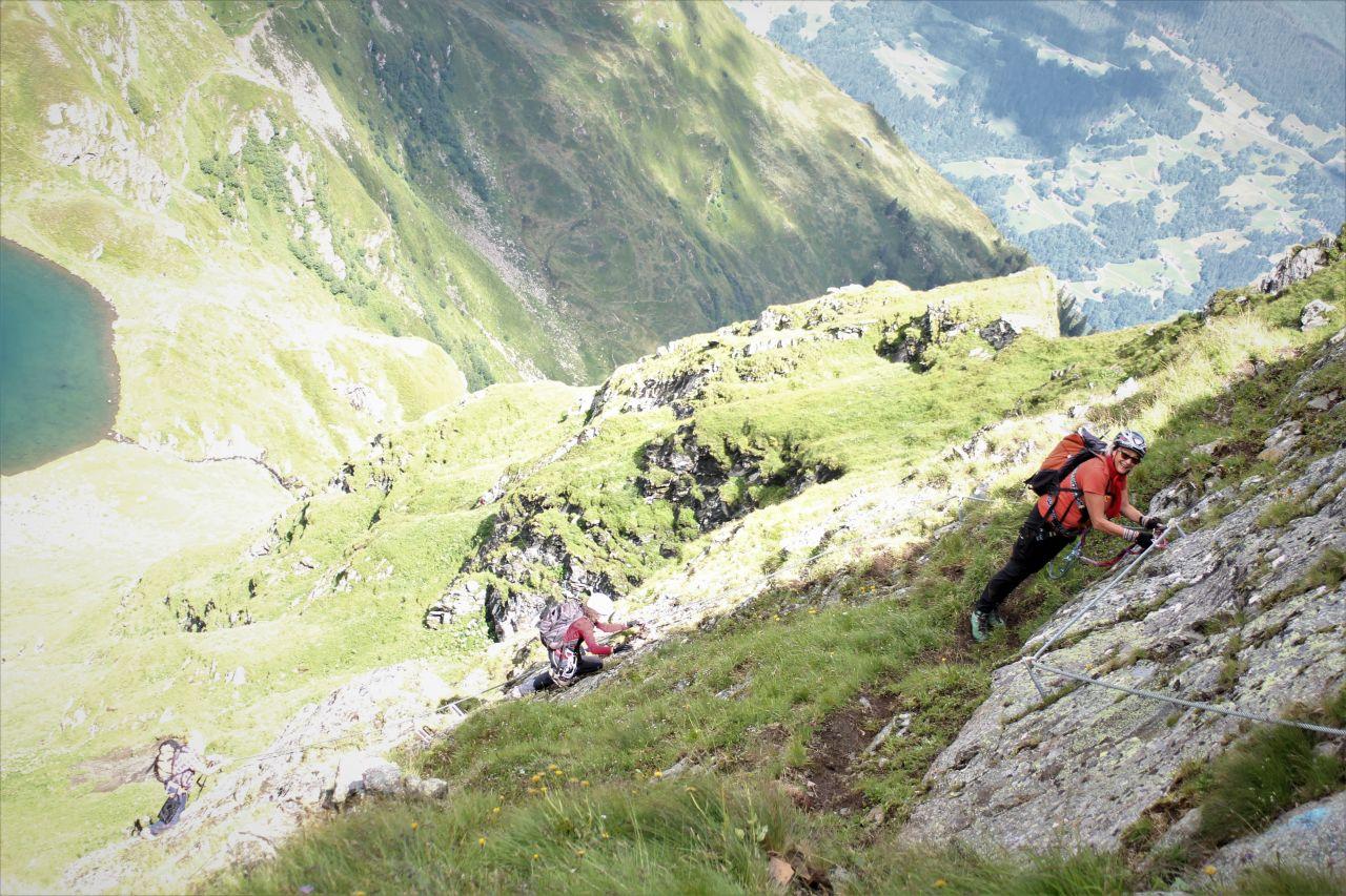 Klettersteig Hochjoch : Klettersteig hochjoch alpenverein