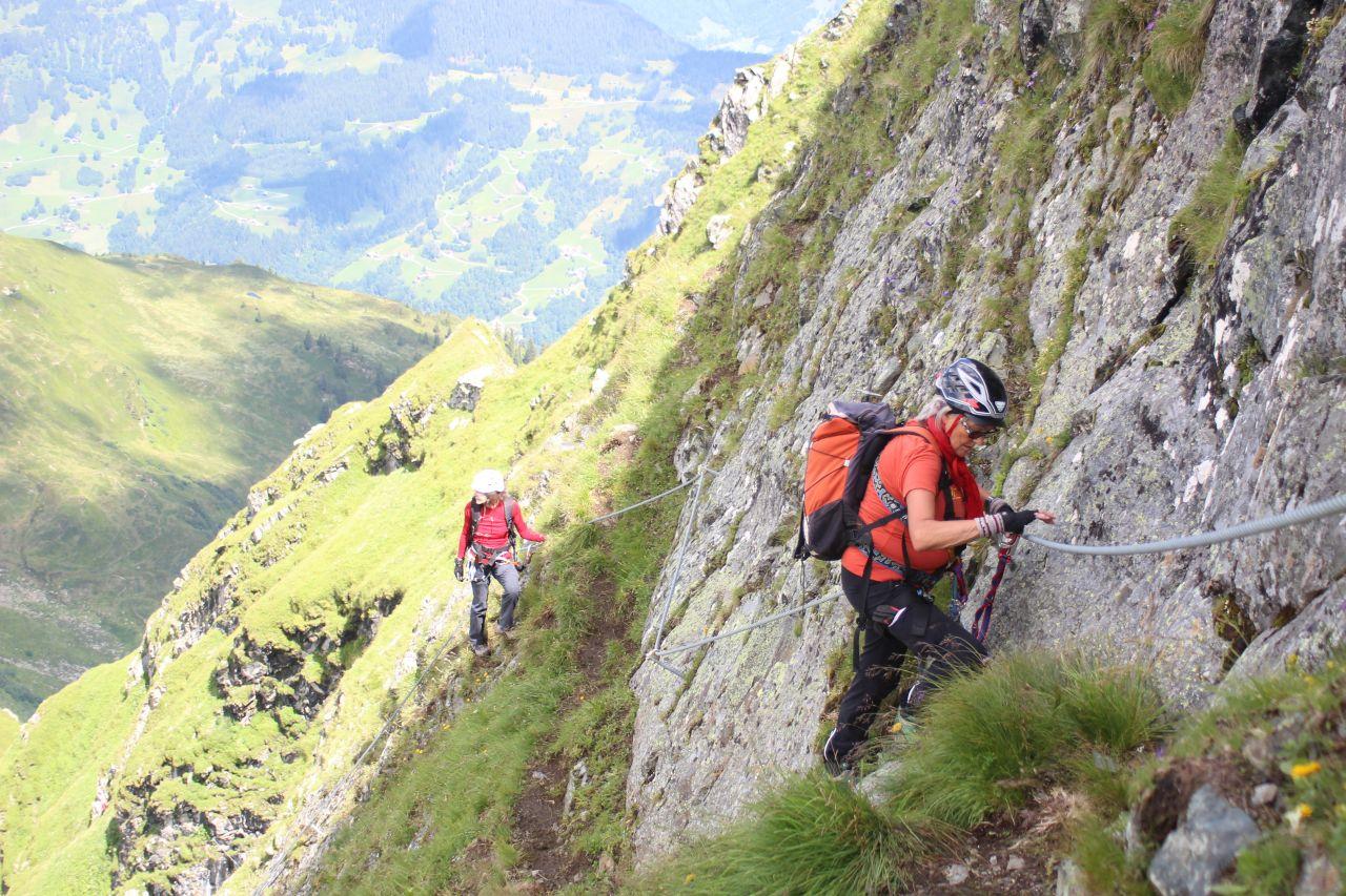 Klettersteig Hochjoch : Viaferrata orionsoft cz hochjoch klettersteig schruns
