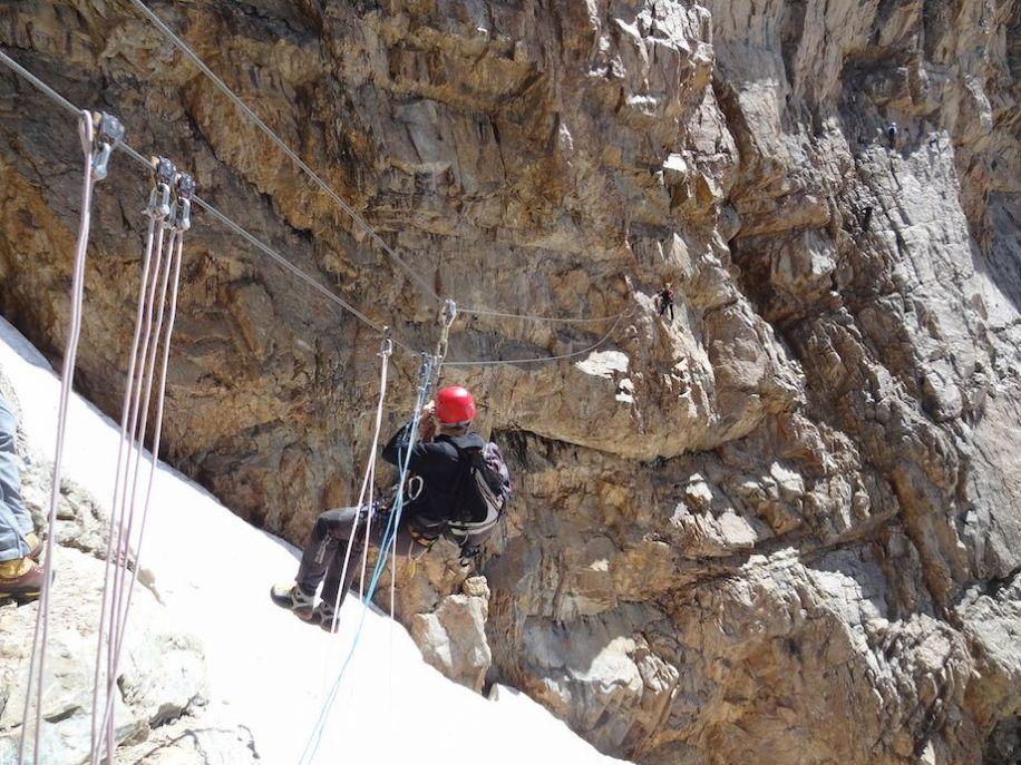 Klettersteig Piz Trovat : Hg piz cambrena d´arlas und palü alpenverein